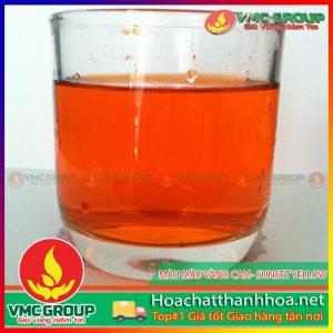 MÀU VÀNG CAM- SUNSET YELLOW- HCVMTH