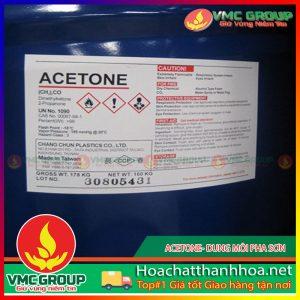 ACETONE- DUNG MÔI PHA SƠN- HCVMTH