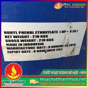 CHẤT HOẠT ĐỘNG BỀ MẶT NONYL PHENOL ETHOXYLATE (NP9) HCVMTH