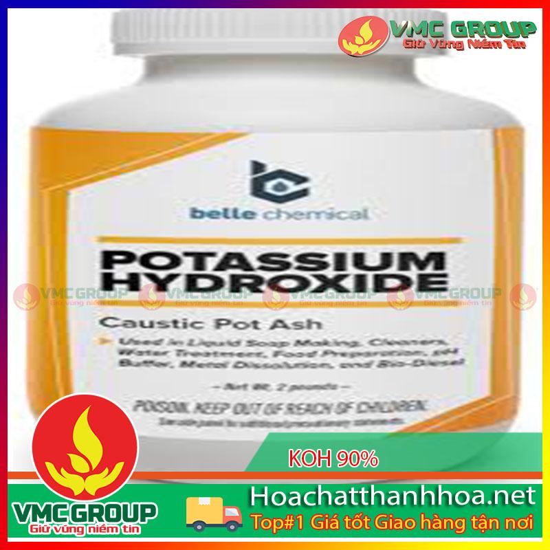 KOH 90% POTASSIUM HYDROXIDE HCVMTH