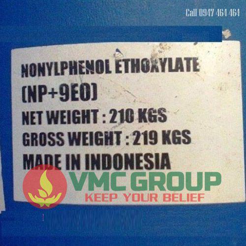 NP9 – NONYL PHENOL ETHOXYLATED NP9 – C15H24O TAY RUA