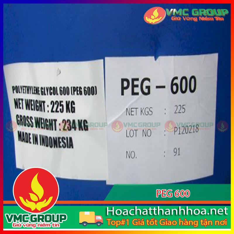 PEG 600 - POLY ETHYLENE GLYCOL HCVMTH