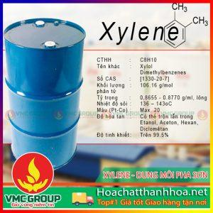 XYLENE (C8H10) DUNG MÔI PHA SƠN HCVMTH