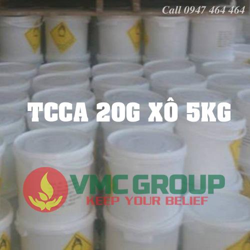 Viên nén TCCA 20gam Trung Quốc