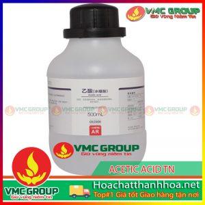 BÁN ACETIC ACID - C2H4O2 or CH3COOH HCVMTH