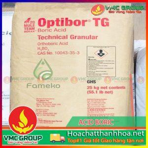 BÁN ACID BORIC H3BO3 HCVMTH