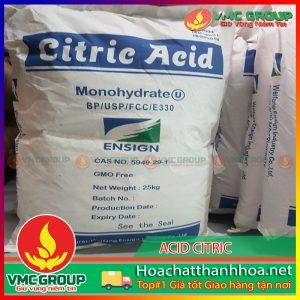 BÁN ACID CITRIC - C6H8O7 HCVMTH