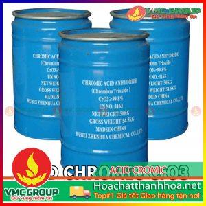 BÁN ACID CROMIC - CrO3 HCVMTH