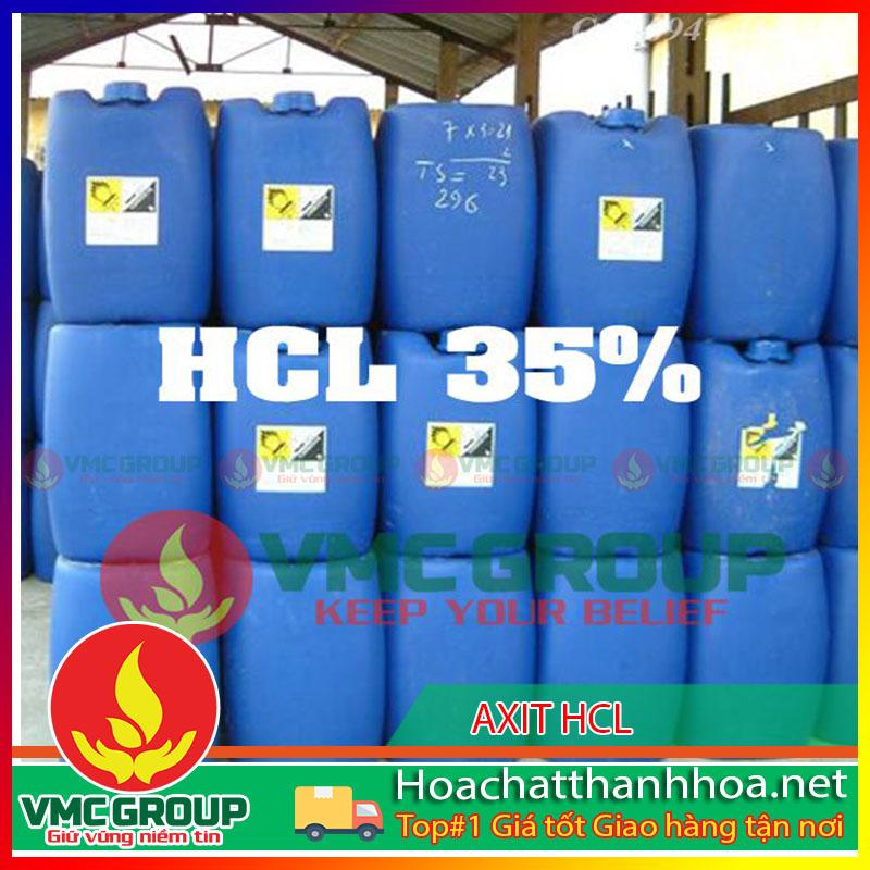 BÁN AXIT CLOHIDRIC HCL 35% HCVMTH