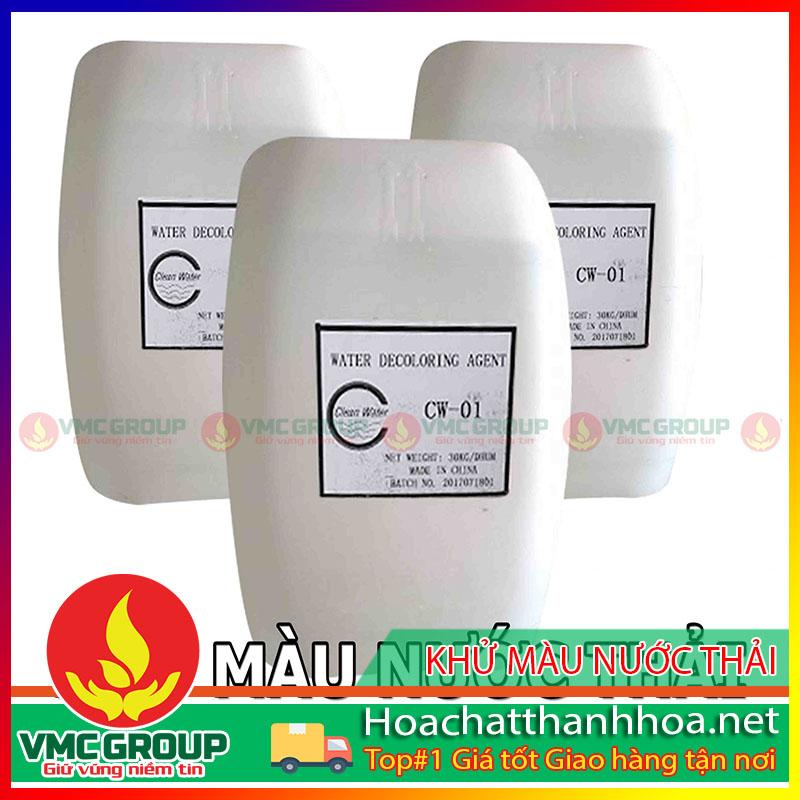 HÓA CHẤT KHỬ MÀU NƯỚC THẢI DECOLORING DC 6500 HCVMTH