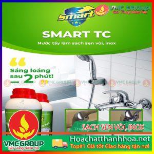 BÁN CHẤT TẨY SẠCH VÒI TẮM VÀ INOX - SMART TC HCVMTH