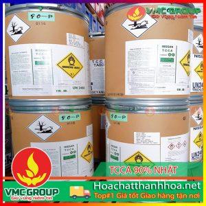 BÁN TRICHLORO ISOCYANURIC ACID (TCCA) 90% HCVMTH