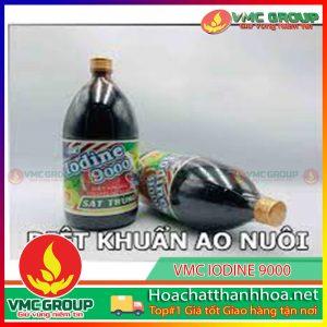 BÁN HÓA CHẤT THỦY SẢN VMC IODINE 9000 HCVMTH