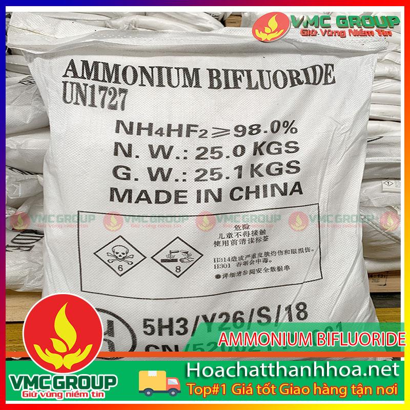 MUA BÁN AMMONIUM BIFLUORIDE - NH4HF2 HCVMTH